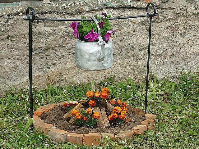 Простые идеи для сада своими руками